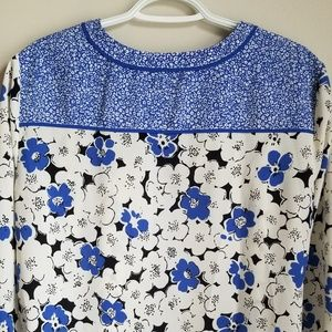 Talbots Tops - Talbots Floral Blouse